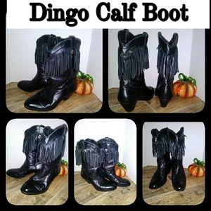 Dingo Fringe Calf Boot